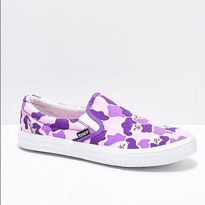 NWT purple shoe